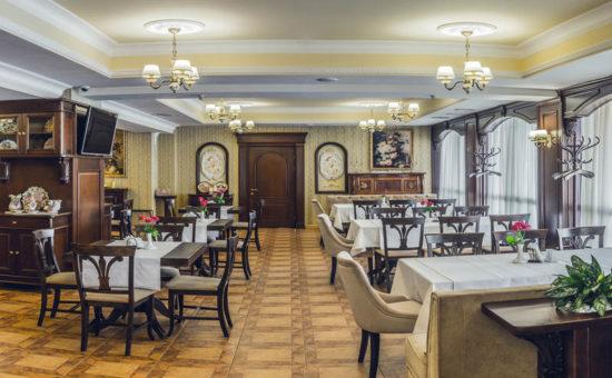 Ресторан в отеле Палаццо