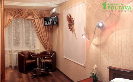 """Зручна квартира студія біля готелю """"Палаццо"""""""