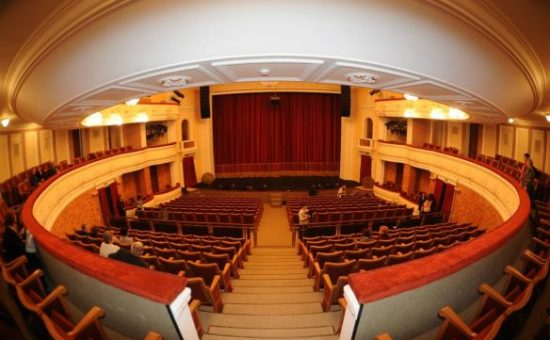 Театр Гоголя Полтава интерьер