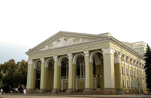 Gogol Theatre in Poltava, Ukraine
