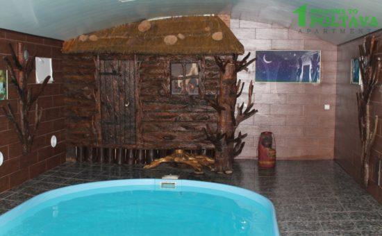 бассейн в бане Бас Полтава