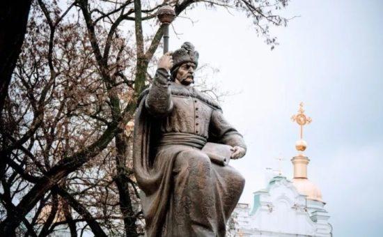 Hetman Ivan Mazepa monument